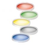 Zestaw kolorowych dysków 2